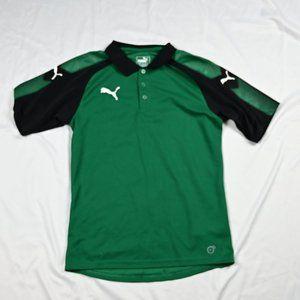 Polo Puma Green Black US S